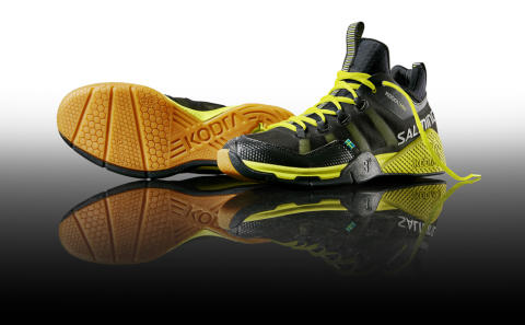 Salming launches Kobra Mid, a new indoor shoe with higher upper construction