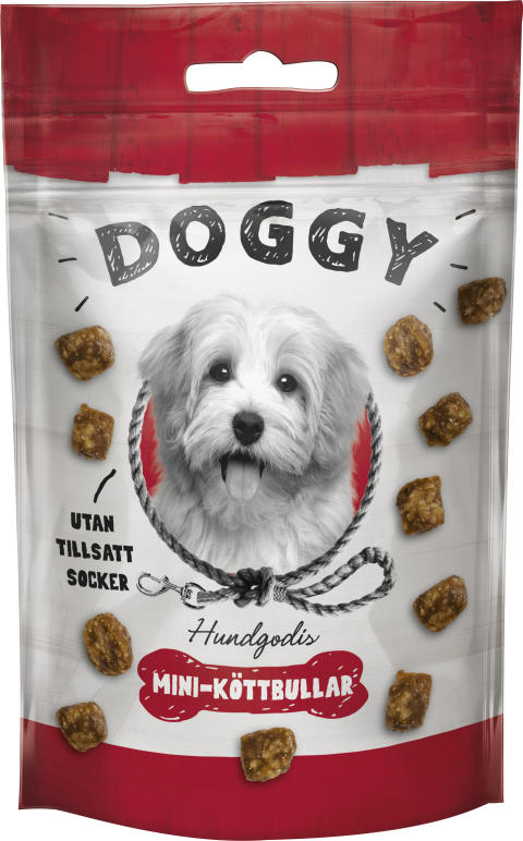 Doggy Hundgodis Mini-köttbullar