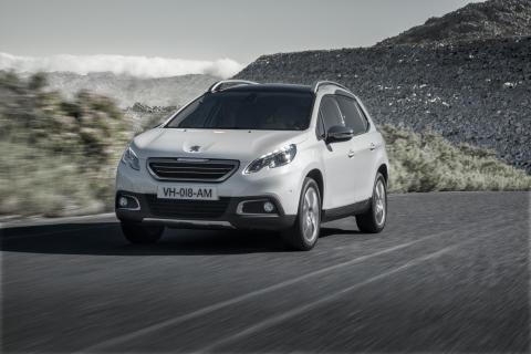 Peugeot 2008 har Sverigepremiär