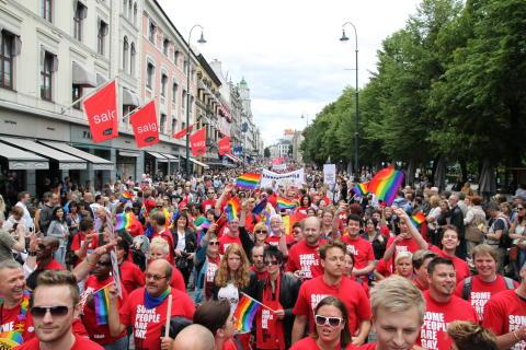 Oslo Pride Parade 2011
