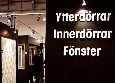 Ekstrands dörrar & fönster på Hem & Villa mässan i Malmö 2013!