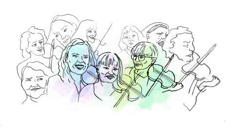 Norr om Stockholm – svängigt skivsläpp med folkmusik efter kvinnor
