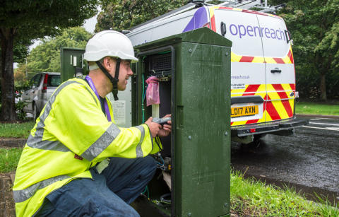 Openreach puts Eltham and Kidbrooke at the front of ultrafast broadband rollout