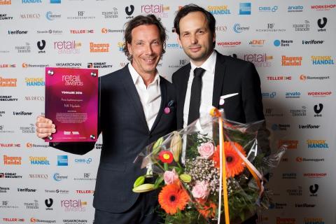 NK Nyckeln vinner Årets Lojalitetsprogram 2016 på Retail Awards.