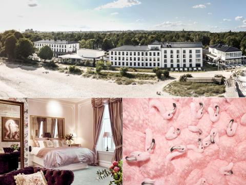 Tre hotell på topp 25 i Sverige