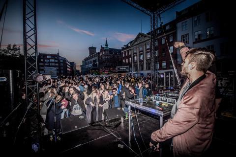 Wonderfestiwall på Nytorv
