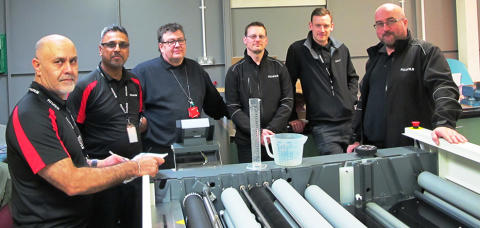 Fujifilm joined technical training in UK