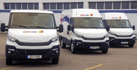 IVECO stärker OKQ8:s uthyrningsflotta med 137 nya bilar