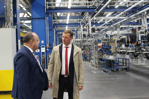 Prof. Dr. Dirk Engelhardt und Ralf Merkelbach