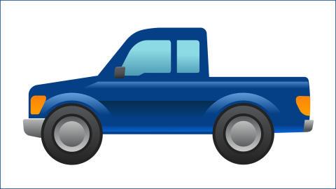 Ford på vej med verdens første pickup-emoji