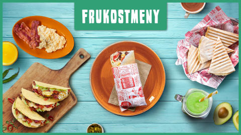 Nu kan du även njuta av god Taco Bar frukost på Arlanda innan flyget