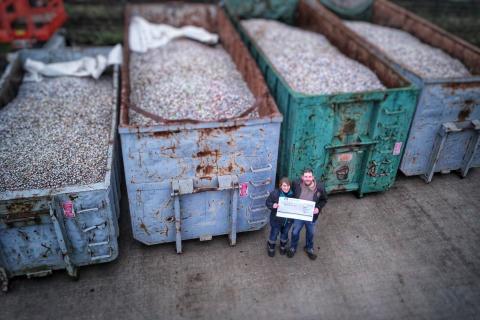 Weltrekord: 43,7 t Kronkorken, gesammelt für den Guten Zweck