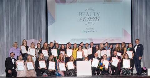 Kosmetik- och hygienföretagen presenterar vinnarna i Swedish Beauty Awards 2019!