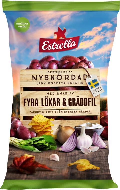 Estrella Limited Edition Fyra Lökar & Gräddfil Hösten 2019