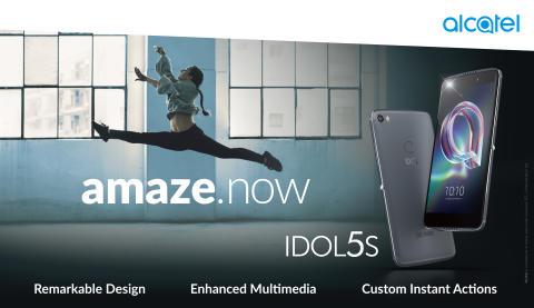 Ny Alcatel Idol5-serie lanseras nu – först ut är Idol 5S
