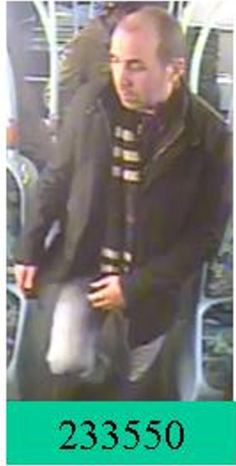 Man sought following indecent exposure on bus, Kensington