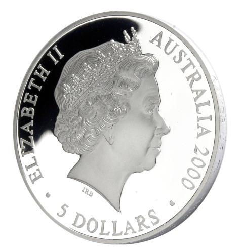 OS-minnesmynt Sydney 2000