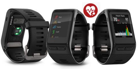 Garmin® vívoactive® HR – GPS-smartklokke med pulsmåling på håndleddet