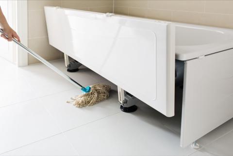 Korjaa nämä vauriot välittömästi kylpyhuoneessasi!