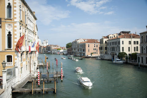 River Canal in Venice, Itlay