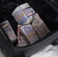 Image of recovered cash