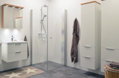 Macro lanserar nu Skagen Rack® Hylla - Vi kallar den dold förvaring i duschen