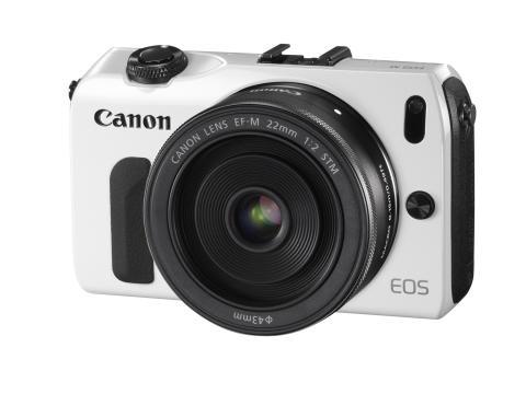 Canon EOS Vit framifrån