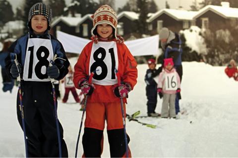 1881 - Sponsorplakater - Ski