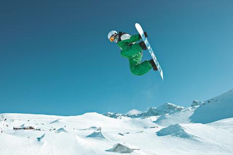 Die besten Snowparks für Freestyler