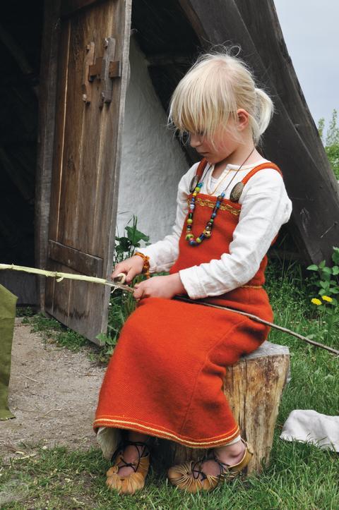 Vikingepige på Trelleborg