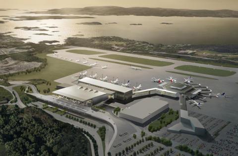 17. august 2017 åpner den nye flyterminalen på Flesland.