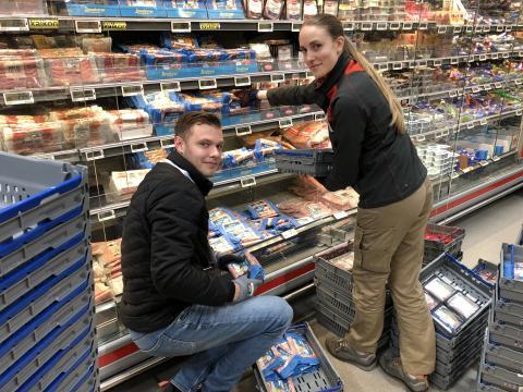 Atrias säljkår ger butiker en hjälpande hand