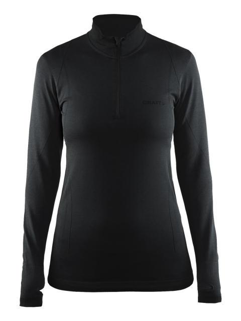 Active Comfort zip i färgen black
