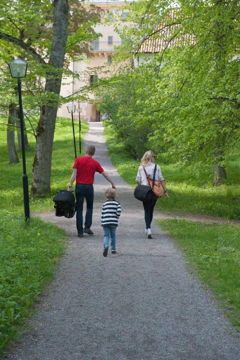 Tyresö slott och park, foto Nordiska museet