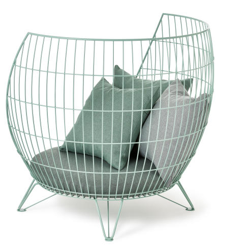Big Basket armchair, design Ola Gillgren
