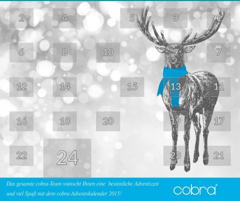 cobra wünscht frohe Weihnachten
