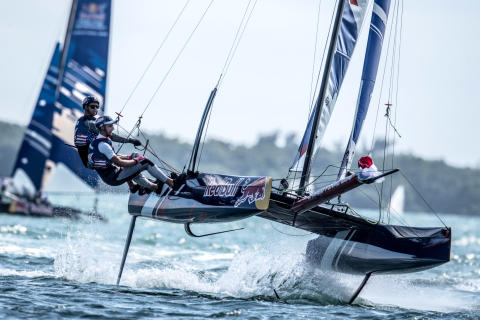 Hi-res image - YANMAR - YANMAR backs the Red Bull Foiling Generation as part of its commitment to the recreational marine industry