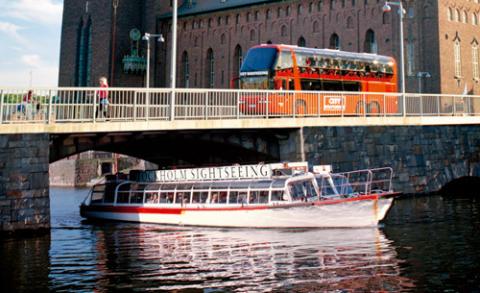 Strömma Turism & Sjöfart bildar Strömma Sverige