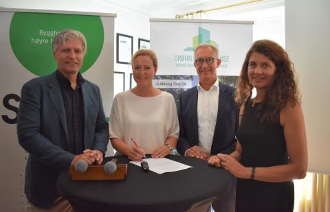 J.B. Ugland Eiendom forplikter seg til å bygge og drifte grønt