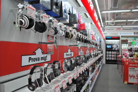 Media Markt i Gallerian har Sveriges största utbud av årets julklapp