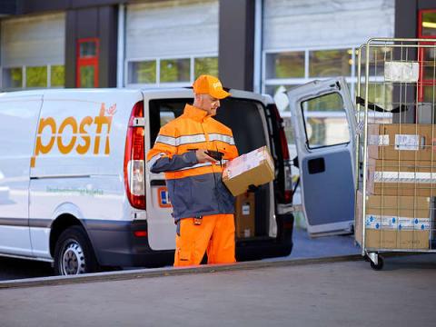 Posti Group och Unifaun i nytt samarbete – ett stort digitalt kliv för finsk logistik