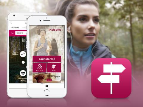 APPSfactory setzt Fitness-App für Schweizer Krankenversicherung Helsana mit der Schweizer Kreativagentur coUNDco um