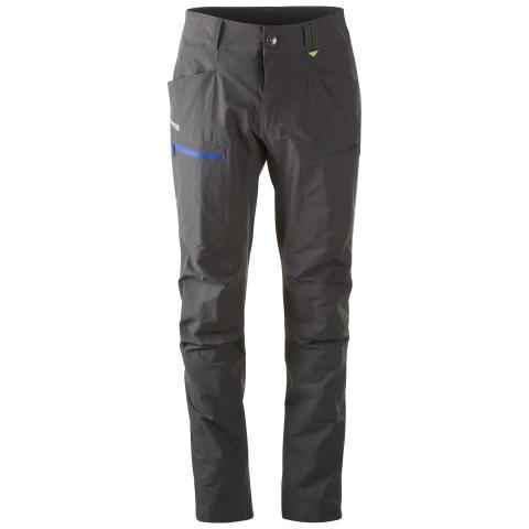 Utne Pant - Solid Dk Grey/Warm Cobalt