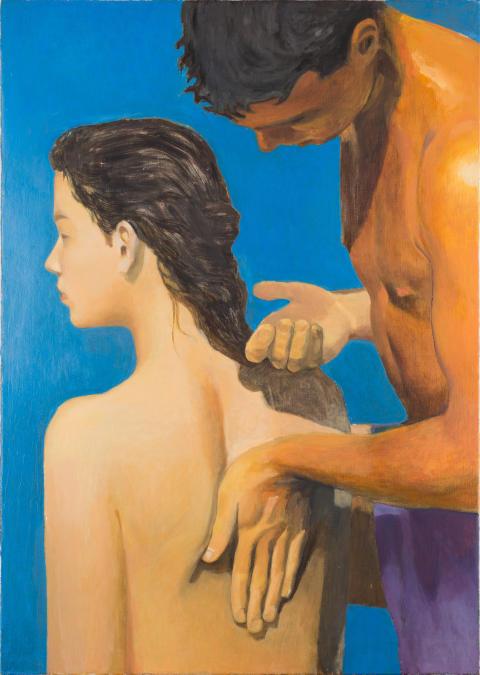 Cecilia Edefalk, En annan rörelse, 1990
