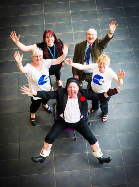 And there's more – Jimmy Cricket throws his weight behind Carers' Campaign
