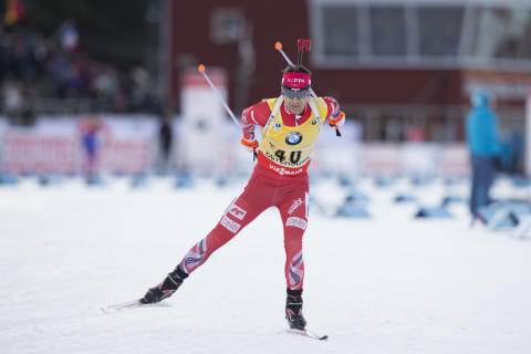 Ole Einar Bjørndalen, sprint Östersund 2015