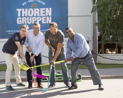ThorenGruppen AB ny delägare i Evosport AB
