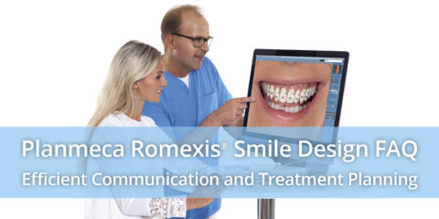 Planmeca Romexis Smile Design FAQ – Efficient communication and treatment planning