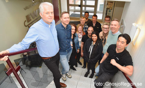 Hos Ewes i Bredaryd byggs och stärks varumärket inifrån