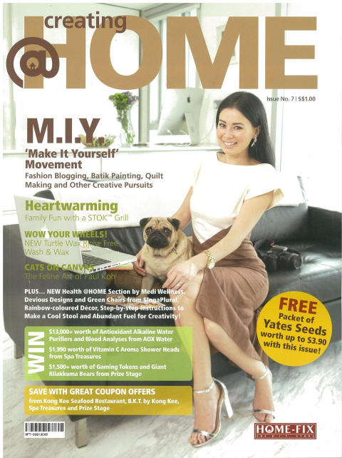 Evorich Flooring Has Been Featured In Issue 7 Of @Home Magazine